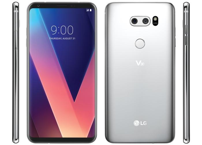 LG G6 Avant Arriere Officiel