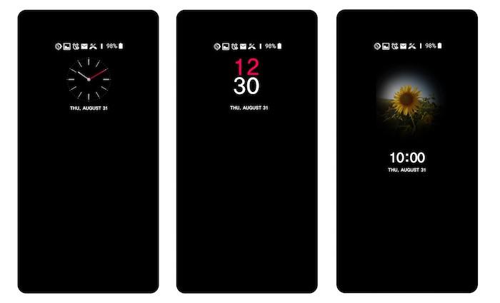 LG V30 Ecran Toujours Allume