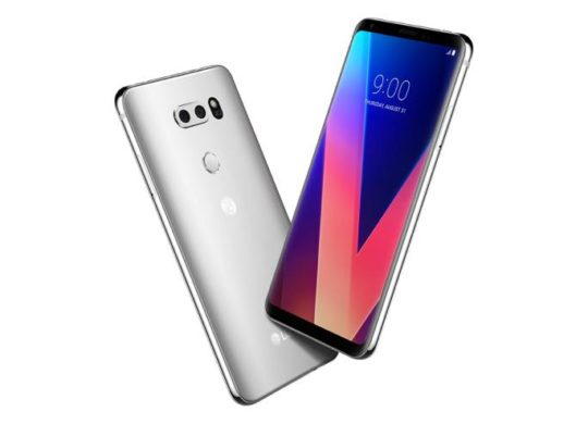 LG V30 Officiel Avant Arriere