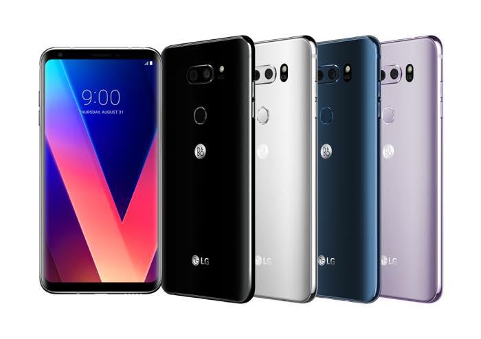 LG V30 Officiel Coloris