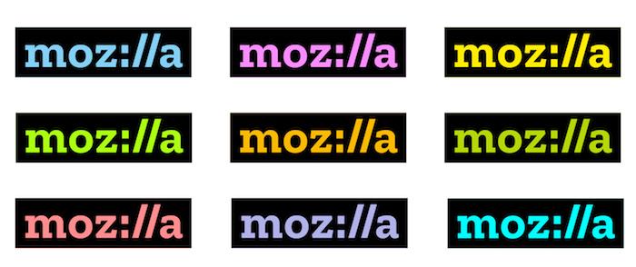 Mozilla Logo Colore