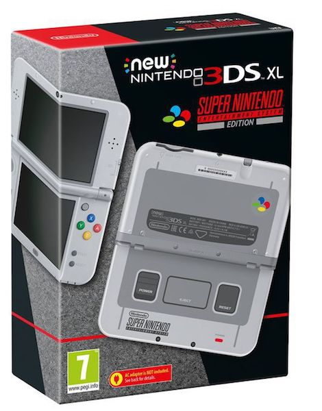 New 3DS XL Super Nintendo