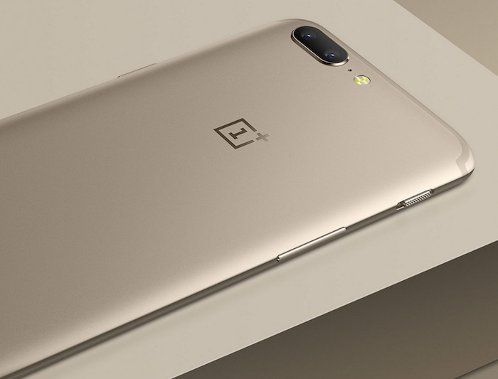 OnePlus 5 Arriere Or