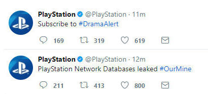 Piratage Comptes Facebook Twitter PlayStation 2