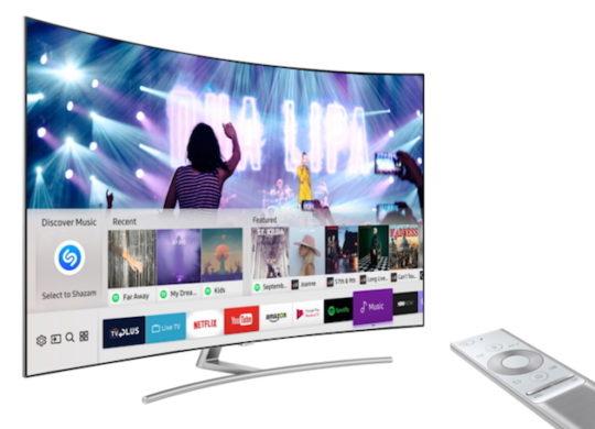 Samsung TV Connectee Shazam