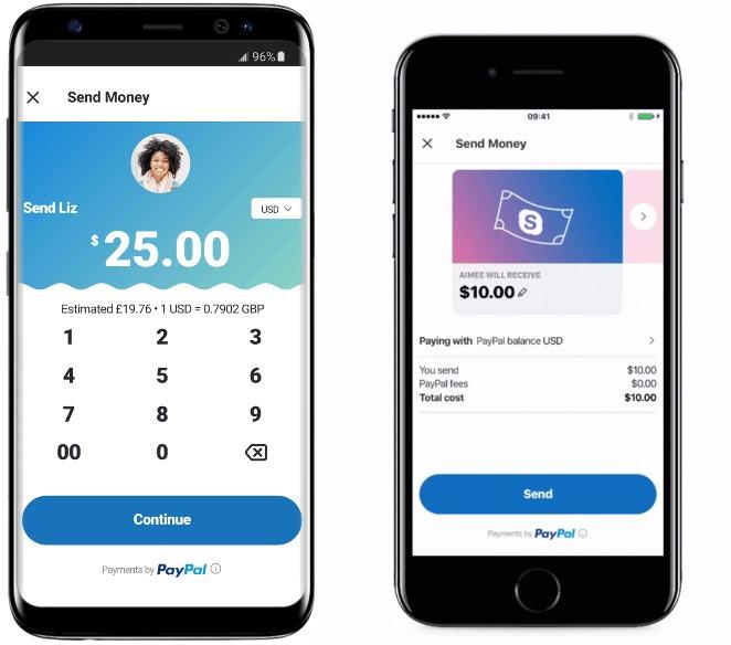 Skype Envoi Argent PayPal