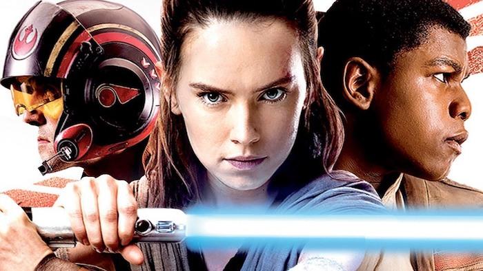 Star Wars Les Derniers Jedi Poe Rey Finn