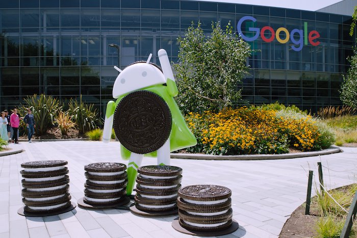 Statue Android Oreo