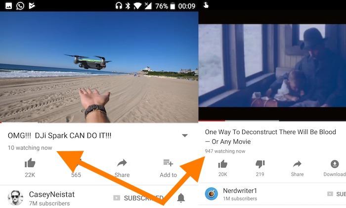 YouTube Compteur Vues En Direct