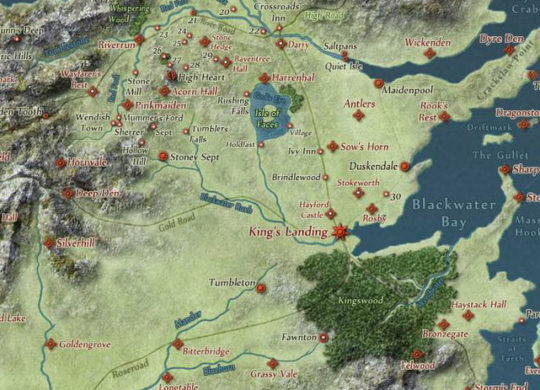 carte interactive GOT