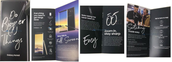 Galaxy Note 8 Brochure 600x218