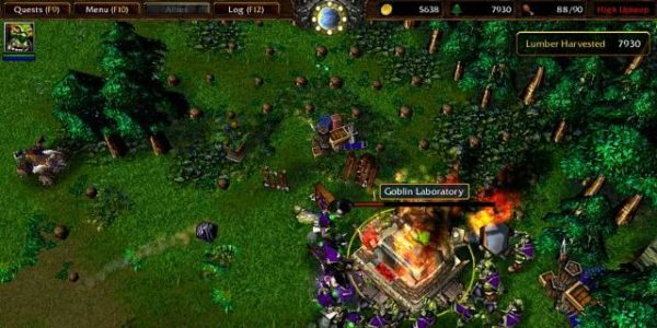 Landscape Gaming Warcraft 3 Reign Of Chaos Screenshot 1 600x300