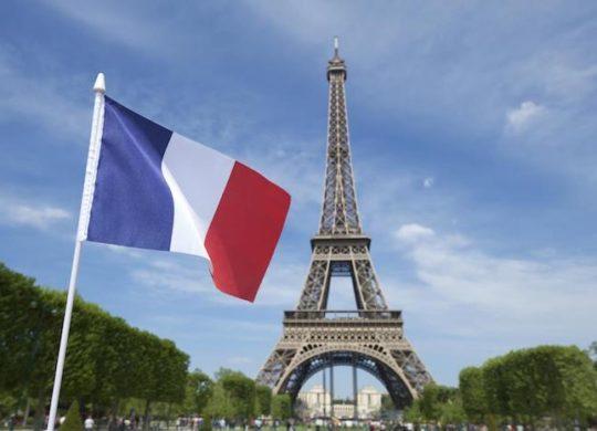 Drapeau Francais Tour Eiffel