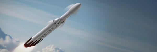 Falcon Heavy 600x200