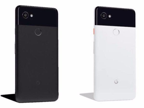 Fuite Pixel 2 XL Noir Blanc 598x450