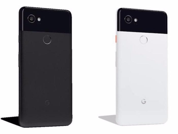 Fuite Pixel 2 XL Noir Blanc