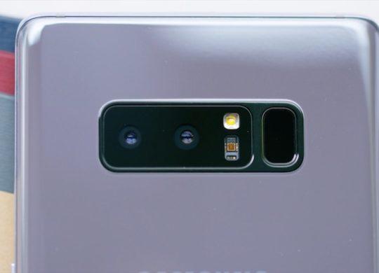Galaxy Note 8 Double Capteur Photo Capteur Empreintes 2