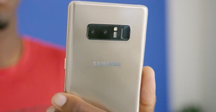 Galaxy Note 8 Double Capteur Photo Capteur Empreintes