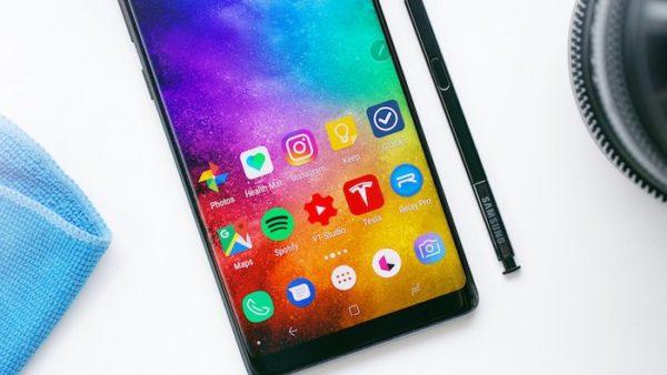 Galaxy Note 8 Ecran 600x338