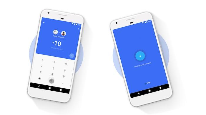 Google Tez Cash Mode
