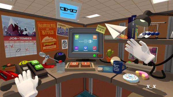 HTC Vive Job Simulator 600x337