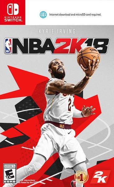 NBA 2K18 Nintendo Switch MicroSD