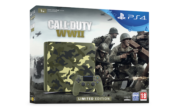 Pack PlayStation 4 Edition Limitee Call Of Duty WWII