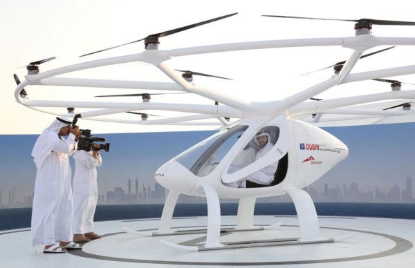 Taxi Drone Dubai 600x388