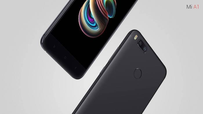 Xiaomi Mi A1 Arriere Double Capteur Photo Capteur Empreintes