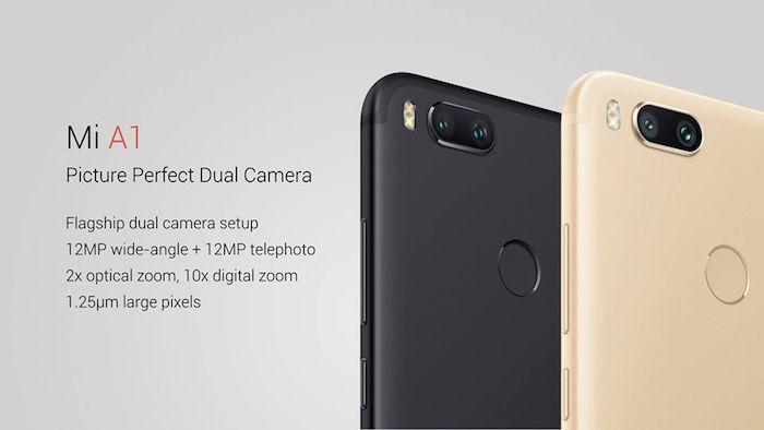 Xiaomi Mi A1 Arriere Double Capteur Photo