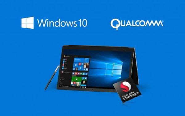 Windows 10 Snapdragon 835 Microsoft 600x375