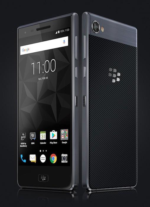 BlackBerry Motion Officiel Avant Arriere 2