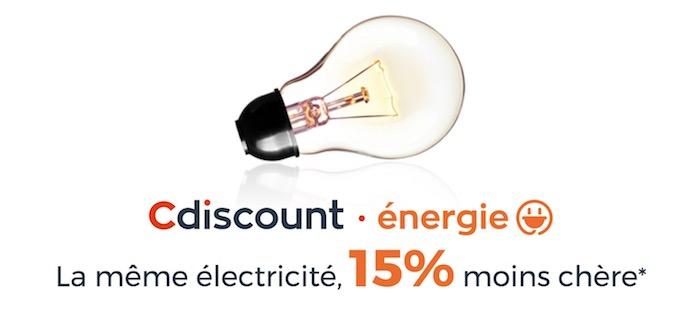 Cdiscount Energie Electricite