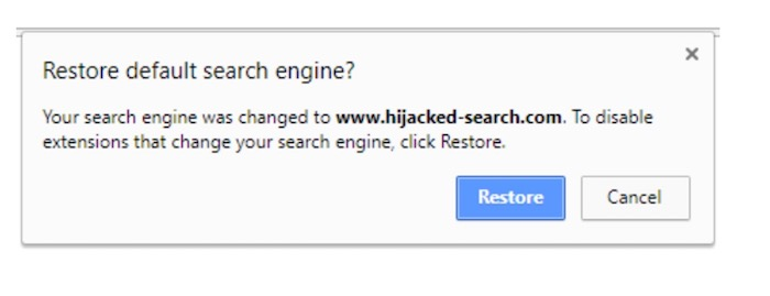 Chrome Detection Hijack