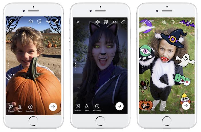 Facebook Filtres Halloween