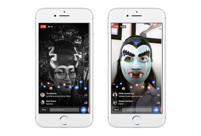 Facebook Video Direct Filtre Halloween