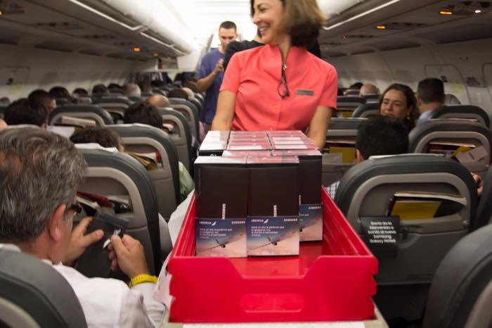 Galaxy Note 8 Gratuit Passagers Avion 3