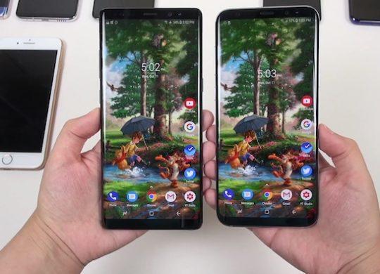 Galaxy Note 8 vs Galaxy S8