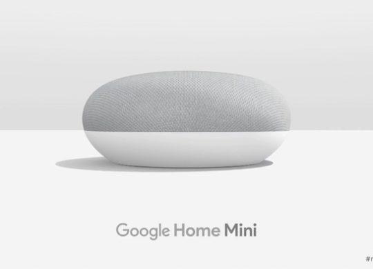 Google Home Mini Officiel