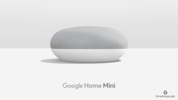 Google Home Mini Officiel 600x338