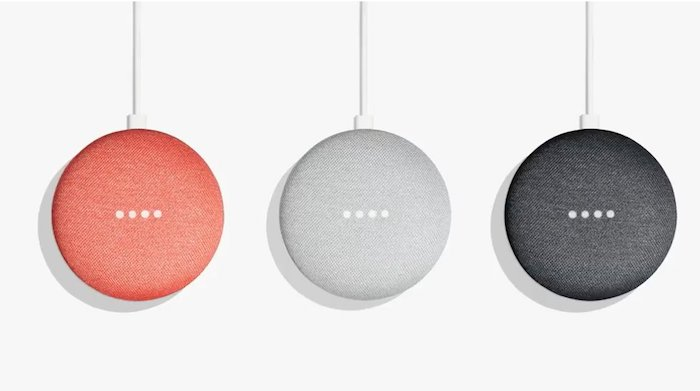 Google Home Mini Officiel Trois Coloris
