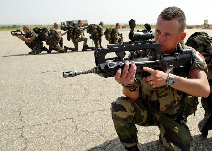Militaire Soldat Francais