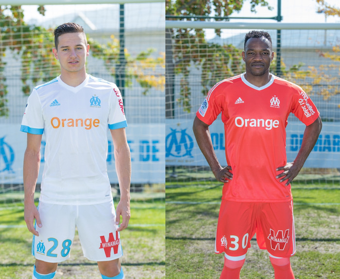 Olympique Marseille Orange Sponsor