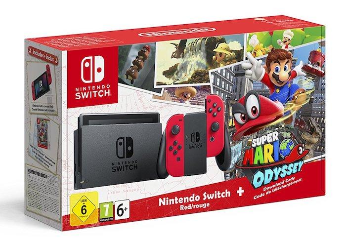 Pack Nintendo Switch Et Super Mario Odyssey