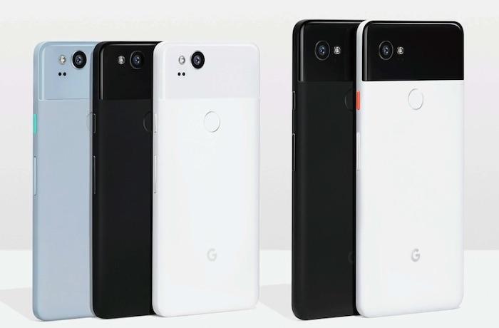 Pixel 2 Et Pixel 2 XL Officiel Arriere