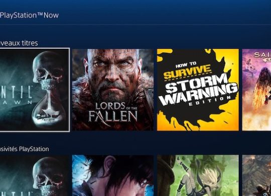 PlayStation Now Francais