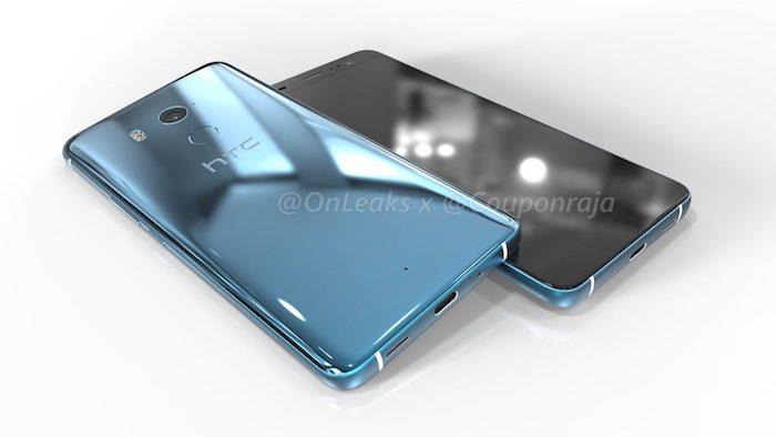Rendu 3D HTC U11 Plus