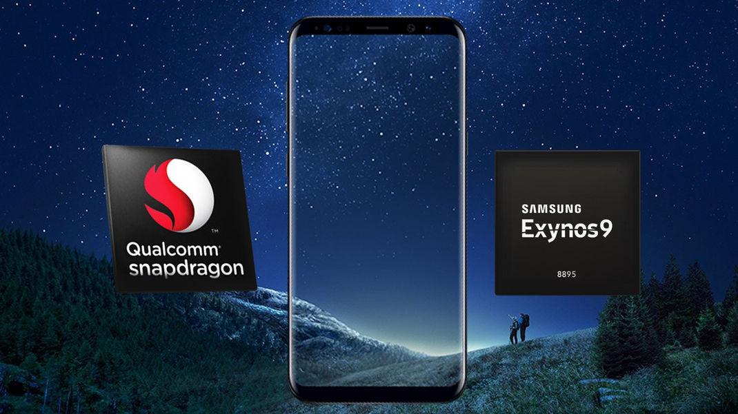 Samsung Galaxy S8 Exynos Snapdragon