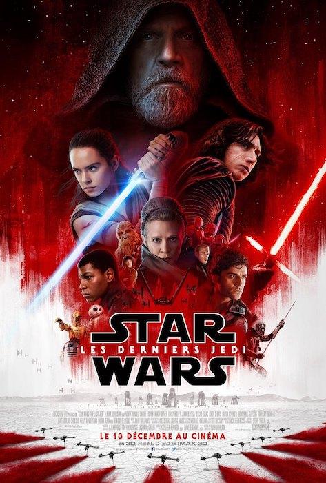 Star Wars Les Derniers Jedi Affiche Finale
