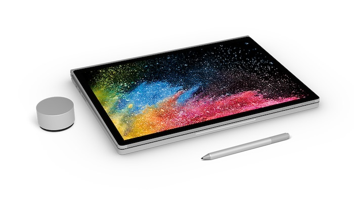 Surface Book 2 Officiel Replie